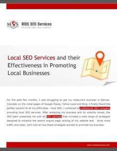 seo services for businesses alaska