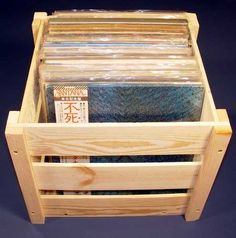 Vinyl Records Storage Lp Record Storage Crate Music Is