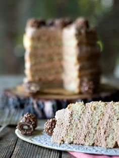 Hazelnut Sponge with Nutella Cream Cake ~ Relatively easy to make and quite impressive to serve up, plus you will fall in love with Nutella Cream