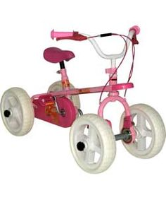 Buy Quadrabyke Kiss 3 in 1 Bike - Pink at Argos.co.uk, visit Argos.co.uk to shop online for Children's bikes, Children's bikes