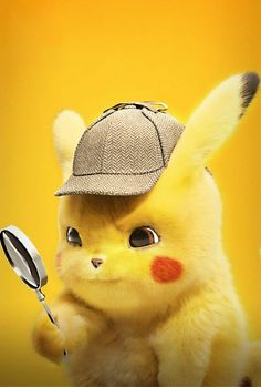 Downaload Pikachu, cute, Pokemon Detective Pikachu, 2019 wallpaper for screen Pikachu Tumblr, Pikachu Funny, Pikachu Memes, Cute Pokemon Wallpaper, Cute Disney Wallpaper, Cute Cartoon Wallpapers, Pikachu Drawing, Pikachu Art, Deadpool Pikachu