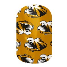 MIZZOU Tigers (University of Missouri) Jamberry Nail Wraps. Show your school spirit!  These wraps last up to 2 weeks on your fingers & up to 6 weeks on your toes! Www.Mynailspace.Jamberrynails.Net