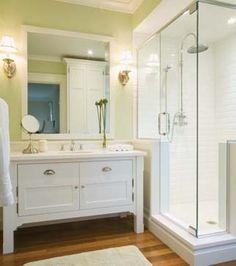 Une salle de bains champêtre transitionnelle | Les idées de ma maison
