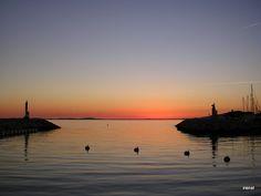 ♥ Memories ♥: Sonnenuntergang am Mittelmeer!