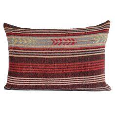 16x24 turkish kilim pillow cushion cover turkey 40 x 60cm Sofa king sham big…