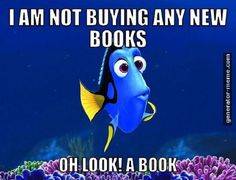 Same thing when I walk into a library