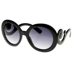 49b6e77e07d7 Designer Inspired Butterfly Frame Baroque Oversized Round Black Women  Sunglasses Kiis.  12.99 Fashion Accessories