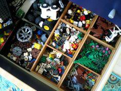 LEGO Storage Ideas | Apartment Therapy
