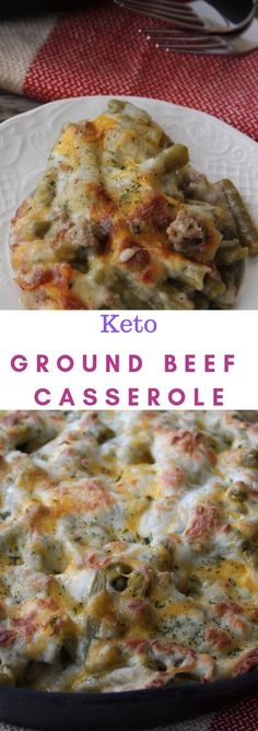 Keto Ground Beef Casserole - my list of delicious and healthy recipes Beef Recipe Low Carb, Ground Beef Keto Recipes, Low Carb Recipes, Pork Recipes, Recipies, Cooking Recipes, Beef Casserole Recipes, Ground Beef Casserole, Keto Casserole
