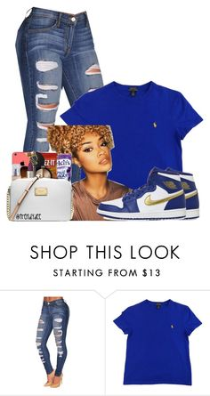 """Untitled #1455"" by bubblesthegr8t ❤ liked on Polyvore featuring NIKE"