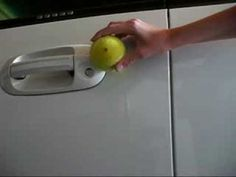 Unlock your car with a tennis ball!