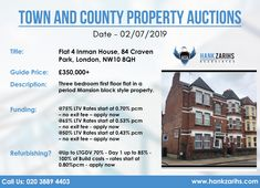 Town and County Property Auctions Date - Call Us: 020 3889 4403 Available Real Estate Uk, Auction, Dating, How To Apply, London, Mansions, Quotes, Villas, Palaces