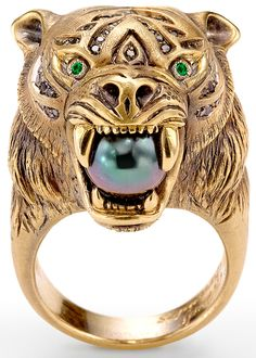 Tiger Ring, Wendy Brandes