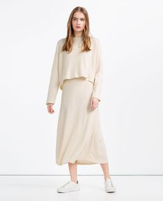 RIBBED STRAPPY DRESS-View All-DRESSES-WOMAN | ZARA Canada