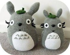 Totoro Amigurumi Crochet Plush Stuffed Animal |  Kawaii Crochet