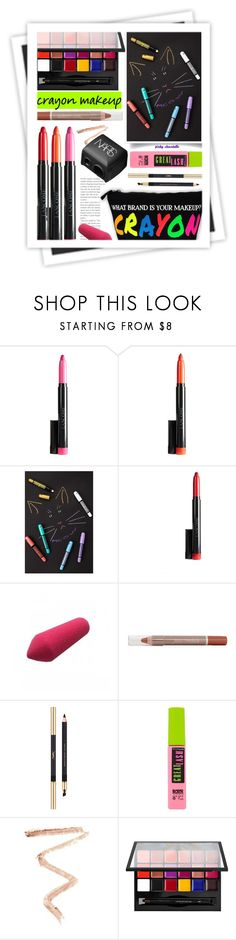 """Crayon Makeup: 27/03/17 (WGC)"" by pinky-chocolatte ❤ liked on Polyvore featuring beauty, Forever 21, MAC Cosmetics, Yves Saint Laurent, Maybelline, Topshop, Anastasia Beverly Hills, GALA, NARS Cosmetics and BeautyTrend"
