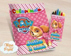 Toque, Paw Patrol, Alice, Packaging, Paw Patrol Skye, 3 Years, Kids Part, Wax, Paper Envelopes