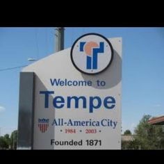 Tempe AZ... Lived here a couple of years after Rick got out of the Air Force.