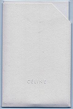 #stationaryobjects: #Celine insert