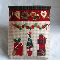 Мои рукоделия и не только...: Новогодний мешок или Acufactum в фетре