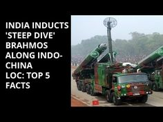 INDIA INDUCTS 'STEEP DIVE' BRAHMOS ALONG INDO-CHINA BORDER: TOP 5 FACTS - YouTube