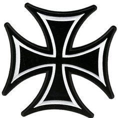 Vector logo download free maltese cross cruz de malta logo vector iron on cross biker patch by patch squad publicscrutiny Gallery