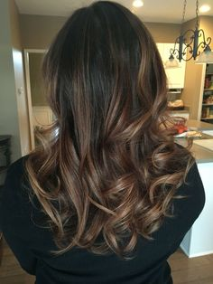 Balayage medium brown - Thank you Salon Bliss!