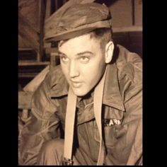 Military...Elvis....from my collection