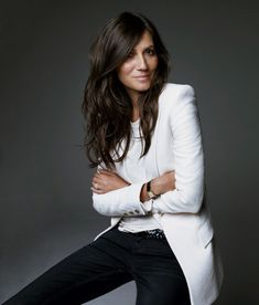 """@Rebecca Minkoff: """"Right now I'm obsessing over the way Emmanuelle Alt dresses; it's the epitome of effortless chic."""""""