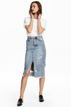 Denim rok, H&M s/s 2