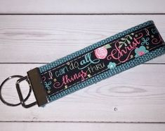 Etsy :: Your place to buy and sell all things handmade Lanyards, Gifts For Coworkers, Key Fobs, Key Chains, Fabric Patterns, Sale Items, Computer Mouse, Preppy, Pattern Design