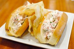 """maine lobster rolls1/2 pound lobster """"new england style"""""""