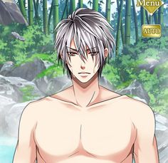 Shirtless Saizo