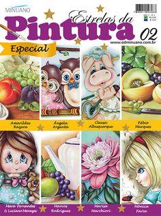 Artesanato - Pintura : ESTRELAS DA PINTURA ESP 002 - Editora Minuano