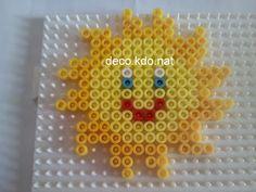 Sun hama perler beads by Deco.Kdo.Nat
