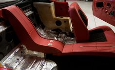 Custom console is complete in the 1966 Mustang.