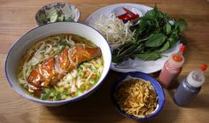 Chef Alison Hearn prepared Pho at her home.