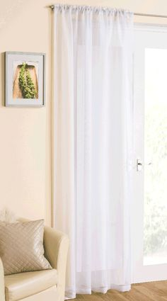 2 X WHITE CLEAR BEADED CURTAIN VOILE TIEBACKS MAPLE TEXTILES UK SELLER £5.99