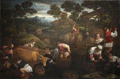 Jacopo Bassano : Autumn (Musée Thomas-Henry  (France - Cherbourg)) 1510-1592 ヤコポ・バッサーノ
