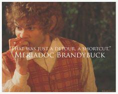Meriadoc Brandybuck.