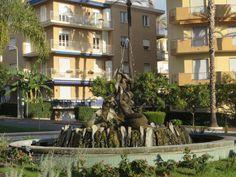 Bordighera (IM) - Fontana delle Sirene
