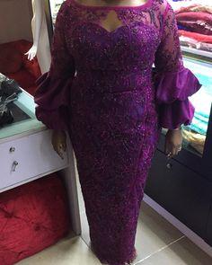 Long Ankara Dresses, Ankara Dress Styles, African Lace Dresses, African Fashion Dresses, Nigerian Lace Styles, African Lace Styles, African Style, African Fashion Designers, African Print Fashion