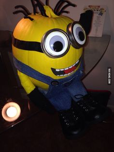 This is much more viable than a whole Minion costume.