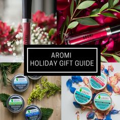Gifts and stocking stuffers for everyone on your list - solid perfume, solid cologne, liquid lipstick, metallic liquid-to-matte, and lip gloss! Gift ideas for everyone on your list!   Gift guide | gift ideas | stocking stuffers | vegan gifts | cruelty-free gifts