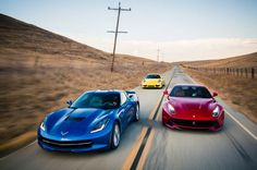 2014 Chevrolet Corvette Stingray Z51 vs. 2014 Ferrari F12 Berlinetta vs. 2013 Porsche 911 Carrera 4S