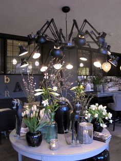 Nimb Brasserie, Copenhagen. Architect: Rene Jasper Thomsen. Lighting Design: Møller and Rothe. Products: Deltalight / Moooi