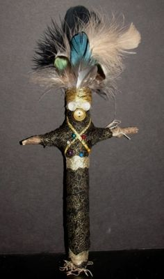 How to make a vodoo doll