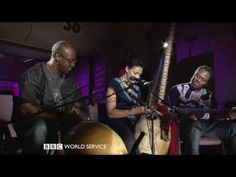 Imagine the sounds of a harp and a guitar combined. With a beautiful voice. That is the kora played by Sona Jobarteh.