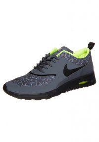 Nike Sportswear - AIR MAX THEA - Trainers - dark grey/black volt
