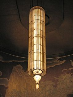 Chpt 26: Art Deco: Chandelier, Radio City Music Hall
